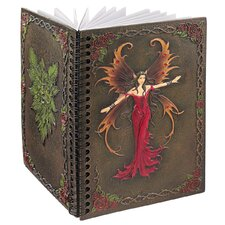 <strong>Design Toscano</strong> Elfin Fairy's Sacred Wisdom Hardcover Sprial Photo Album