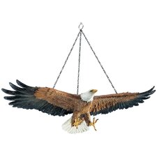 <strong>Design Toscano</strong> Flight of Freedom Hanging Eagle Wall Décor