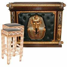 The Altar of Tenenit Egyptian Home Bar Set