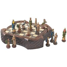 Legendary Celtic Warriors Chess Set