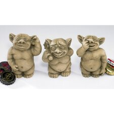 PiccaDilly Gargoyle Statue Set