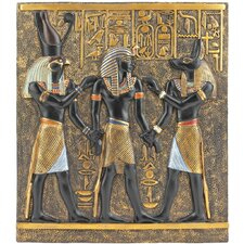 <strong>Design Toscano</strong> Rameses I Between Horus and Anubis Frieze Wall Décor