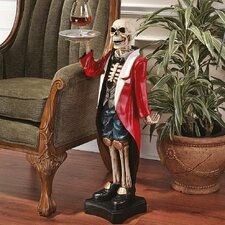 Bones the English Butler Statue