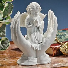 Bonded Marble Prayers of an Angel Figurine