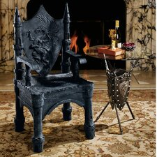<strong>Design Toscano</strong> The Dragon of Upminster Castle Throne Arm Chair