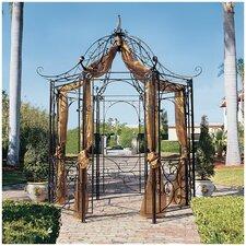 """The Amelie Architectural Garden 10' 6"""" H x 10' 10"""" W x 10' 10"""" D Pergola"""