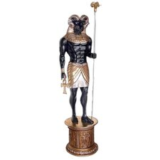 <strong>Design Toscano</strong> The Egyptian Grand Ruler Life-Size Khnum Statue