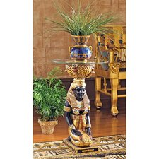 The Egyptian Goddess Eset Pedestal Plant Stand