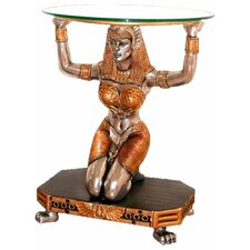 Egyptian Goddess Ma'at Console Table