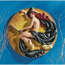 <strong>Design Toscano</strong> The Witch's Midnight Ride Wall Plaque