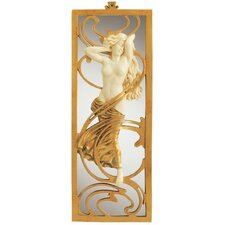 Parisian Art Nouveau  Wall Mirror (Set of 2)