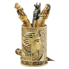 <strong>Design Toscano</strong> Egyptian Pharaoh Pen Vessel