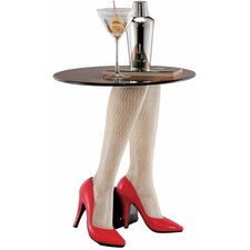 Fishnets and Heels Sculptural End Table