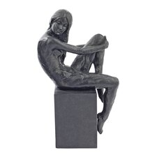 <strong>Design Toscano</strong> Visions of Monique Nude Female Holding Knee Studies Figurine