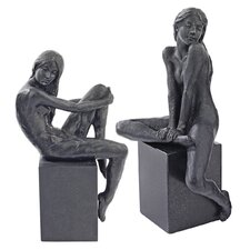 <strong>Design Toscano</strong> 2 Piece Visions of Monique Nude Female Figurine