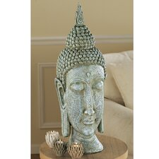 Sukhothai Buddha Asian Sculptural Bust