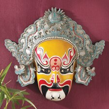Peking Opera Mask Dian Wei Wall Sculpture