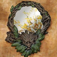 Forest Spirits Greenman Wall Mirror