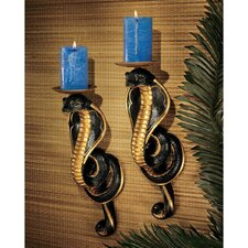 Renenutet Egyptian Cobra Goddess Wall Sconces