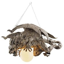 <strong>Design Toscano</strong> Nightfall Sculptural Gargoyle Chandelier