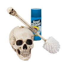 Bathroom Skullduggery Toilet Bowl Brush