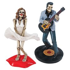<strong>Design Toscano</strong> 2 Piece The Undead Icons Figurine Set