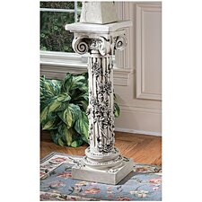 <strong>Design Toscano</strong> The Rose Garland Pedestal Plant Stand