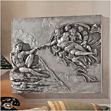 The Creation of Adam Sculptural Wall Frieze