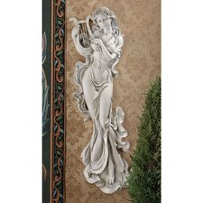 <strong>Design Toscano</strong> Musical Muse Wall Décor (Set of 2)