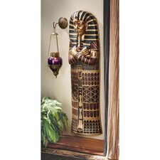 King Tut Sarcophagus Wall Sculpture