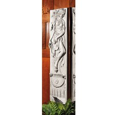 <strong>Design Toscano</strong> Dionysia Festival Friezes Dancer with Harp Wall Décor