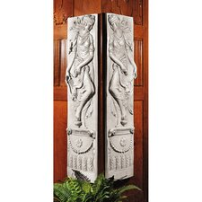 <strong>Design Toscano</strong> Dionysia Festival Friezes 2 Piece Dancer Wall Décor Set
