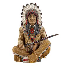 <strong>Design Toscano</strong> Noble Feathers Native American Figurine