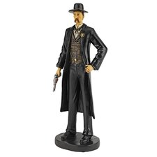 <strong>Design Toscano</strong> Doc Holiday of the Old West Figurine