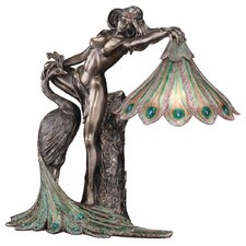 The Peacock Goddess Illuminated Figurine