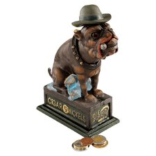 Spike The English Bulldog Authentic Foundry Iron Bank