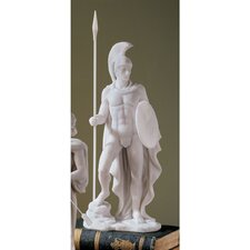 <strong>Design Toscano</strong> Ares Classical Greek God Bonded Marble Statue