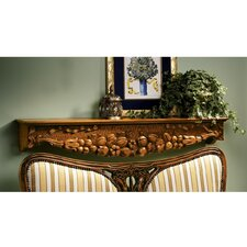 <strong>Design Toscano</strong> The Bounty of Karnington Manor Wood Mantel