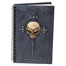Gothic Skull Cross Secret Journal