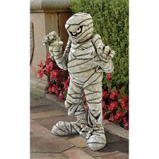 Wrapped Too Tight Garden Mummy Statue