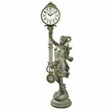 <strong>Design Toscano</strong> Goddess of Time Pendulum Clock