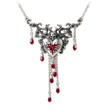 Bleeding Heart Gothic Pendant