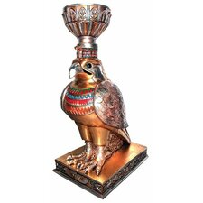 Egyptian Winged Falcon Urn Sculptural