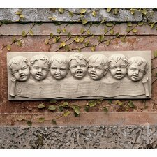<strong>Design Toscano</strong> The Seven Musical Cherubs of Florence Wall Décor