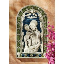 <strong>Design Toscano</strong> Madonna and Child Bas-Relief Wall Décor