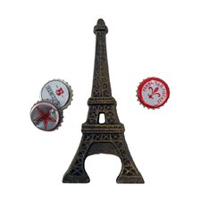 <strong>Design Toscano</strong> Eiffel Tower Cast Iron Bottle Opener