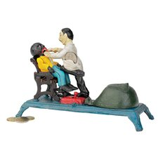 <strong>Design Toscano</strong> The Dentist Chair: Pulling Teeth Collectors' Mechanical Coin Bank Figurine