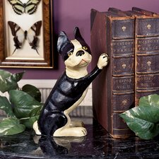 Iron Terrier Doorstop Book Ends (Set of 2)