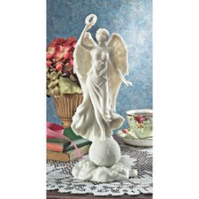 Angel of Peace Bonded Natural Marble Statue