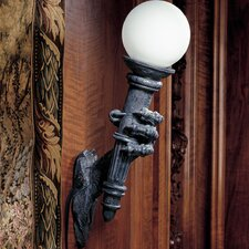 Blackfriar's Gate Wall Torchiere Lamp